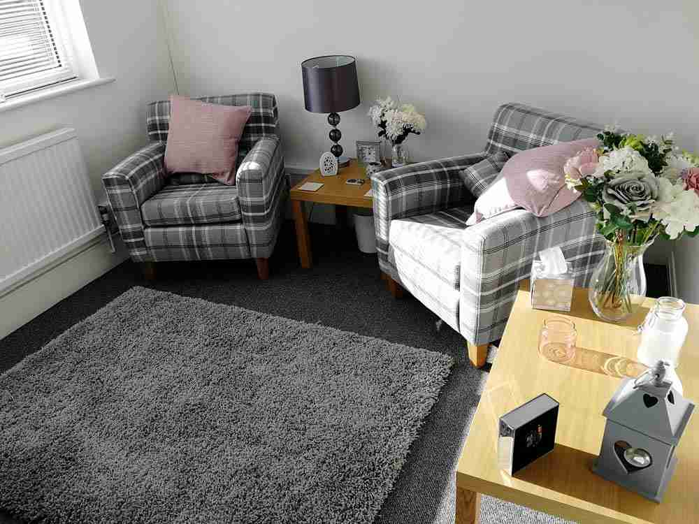 an example of a therapy room